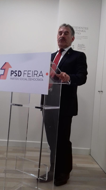 Recandidatura de Emídio Sousa ainda não está fechada apesar da vontade do partido