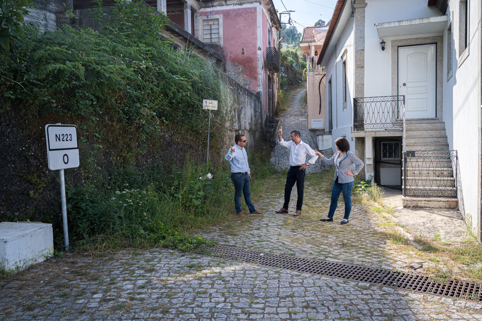 Márcio Correia desafia câmara a adquirir Quinta do Pateo em Canedo